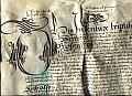 Vellum Indenture recording the lease of the Manor, LEIGHTON BUZZARD, Bedfordshire, between ' SIR ROWLANDE HAYWARDE knighte and Alderman  of the Cittie of London' and FRANNCE BARNHAM of the Cittye of London Alderman and GEORGE BARNE of London Alderman and JOHN BARNE of London Haberdasher '
